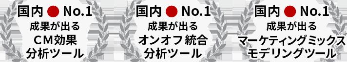 国内No.1 成果が出る〇〇